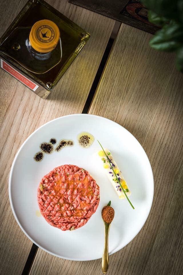 Beef Tartar, Silvestermenu, Kochwerkstatt, Benediktinermarkt, Take Away, Silverster, Essen bestellen, Lieferservice