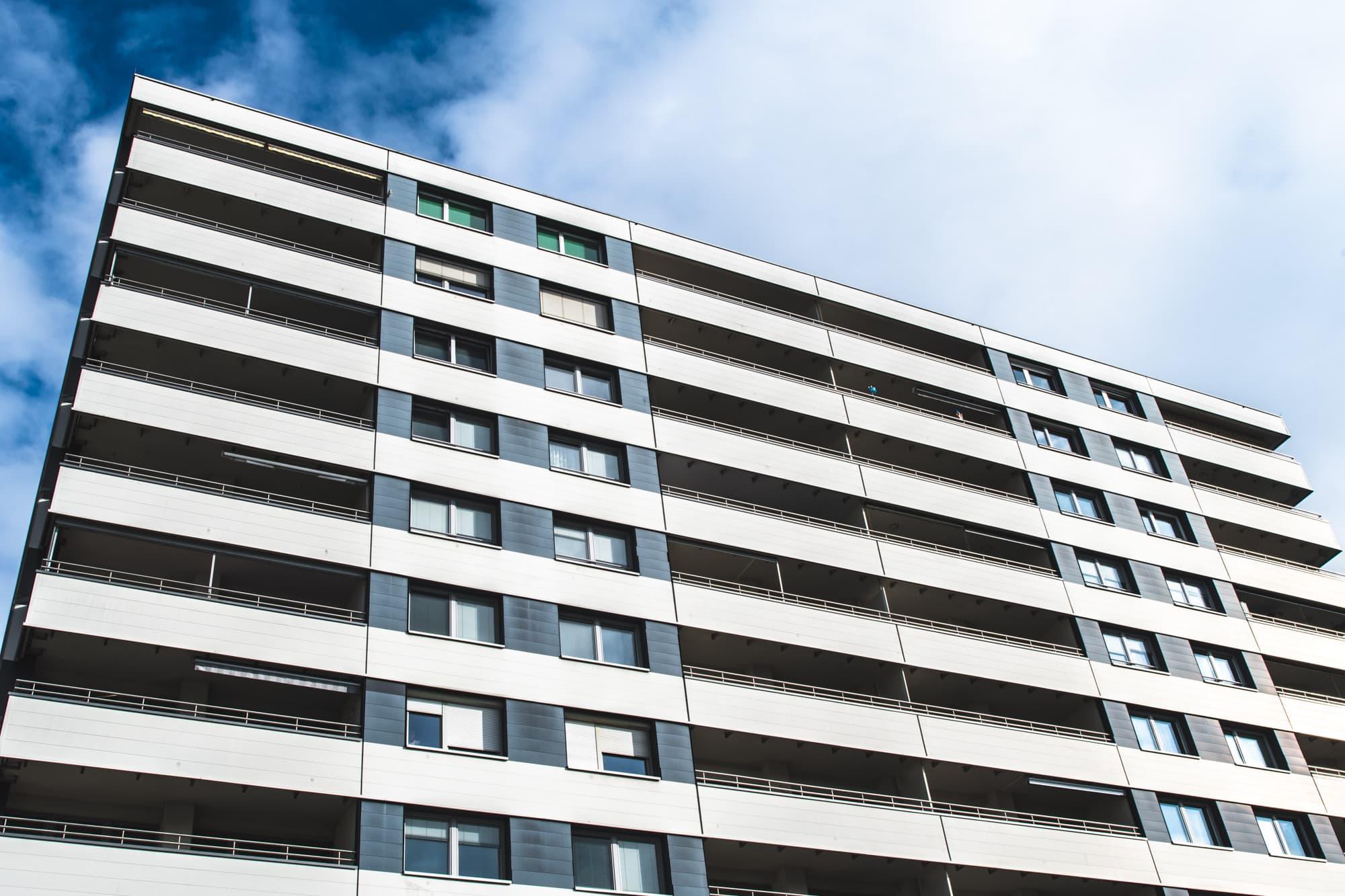 Hiltl Haus, moderne Architektur, 9020 Klagenfurt am Wörthersee, 60er Jahre Bauwerk