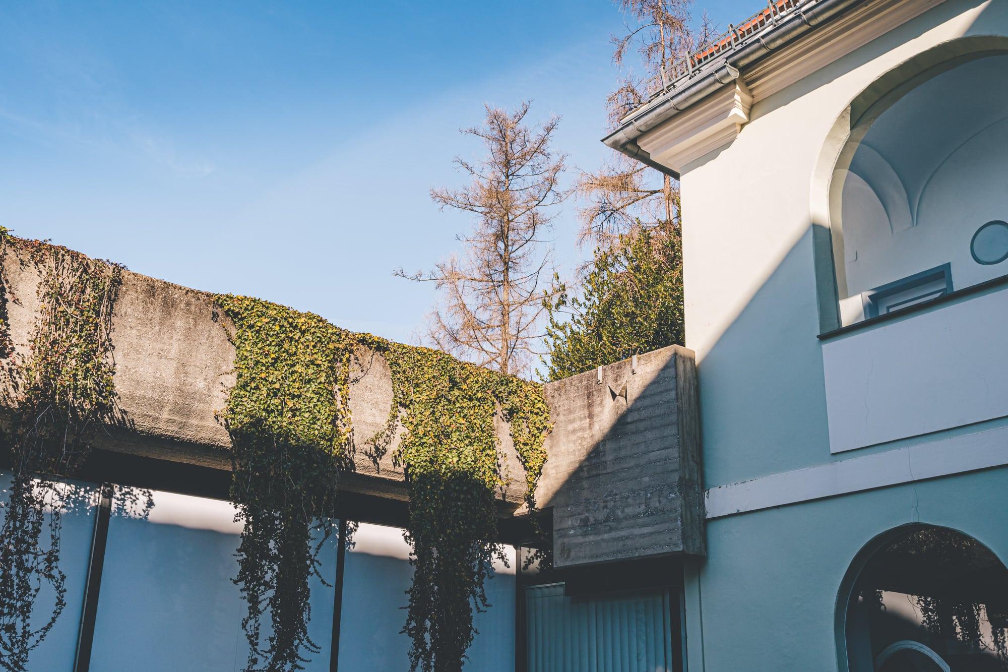 Stadthaus, Alpen Adria Galerie, moderne Architektur, 9020 Klagenfurt am Wörthersee, 60er Jahre Bauwerk