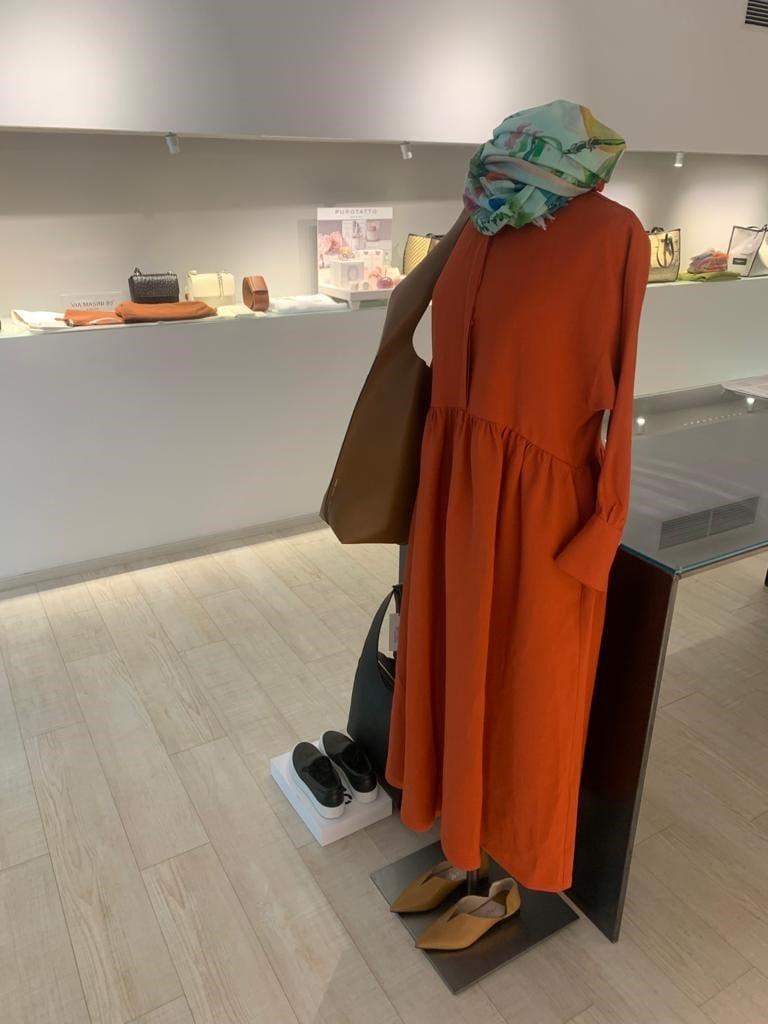 Kleid, orange, Maxikleid, Frühlingstrends, Mode, 9020 Klagenfurt am Wörthersee